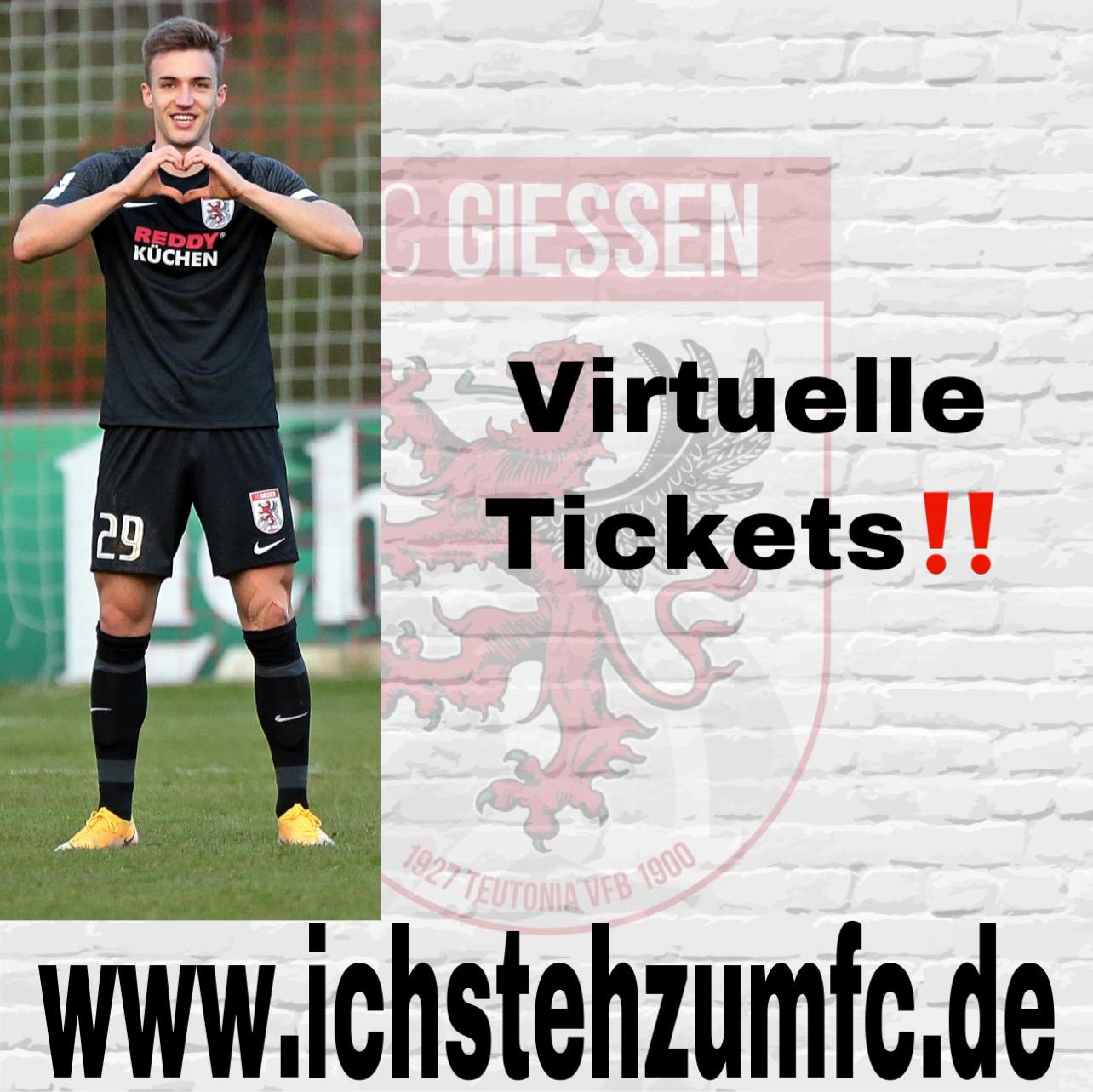 Virtuelle Tickets – Stream bleibt kostenlos ‼️
