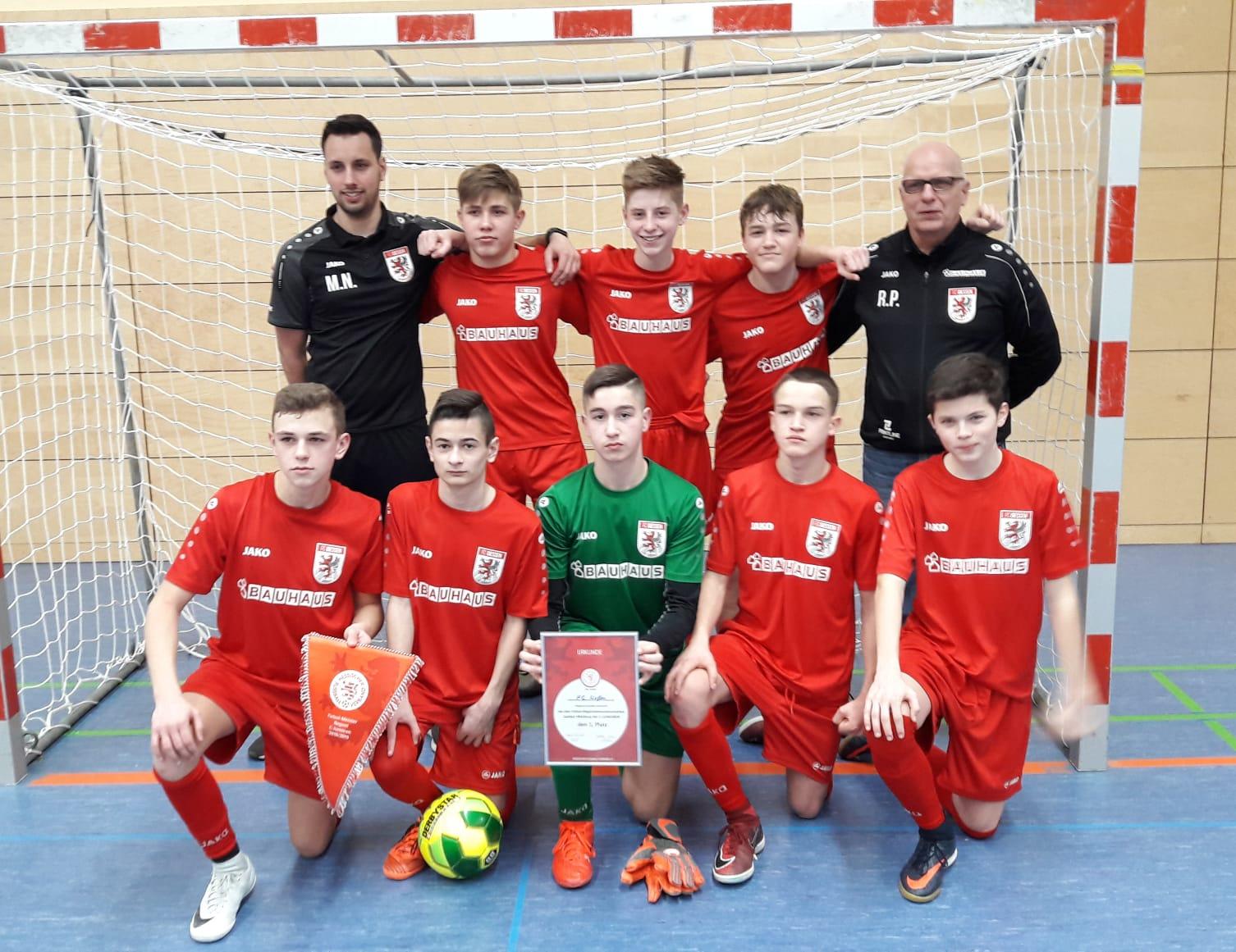 U15 kürt sich zum Futsal-Regionalmeister