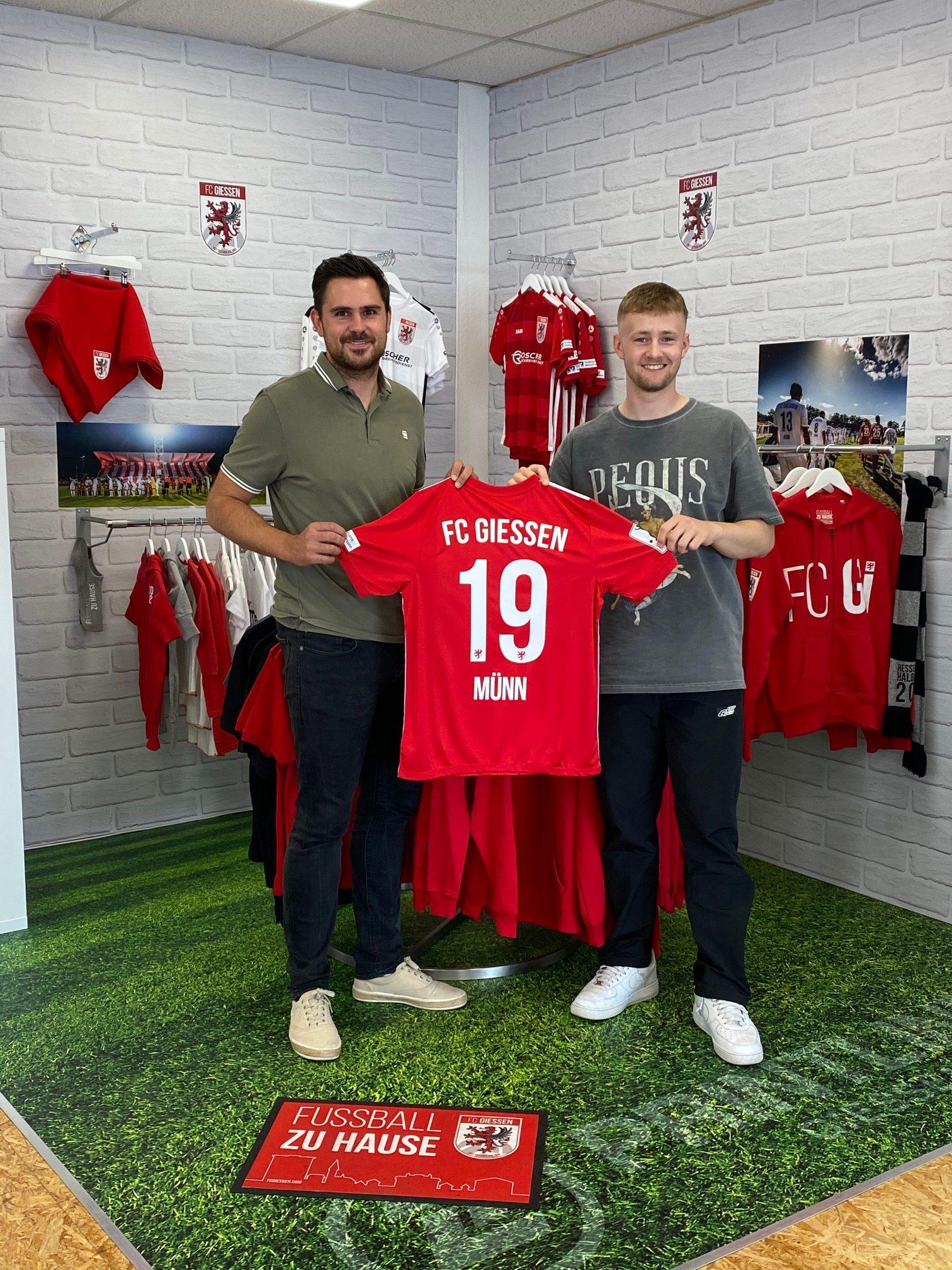 Münn kommt zum FC Gießen