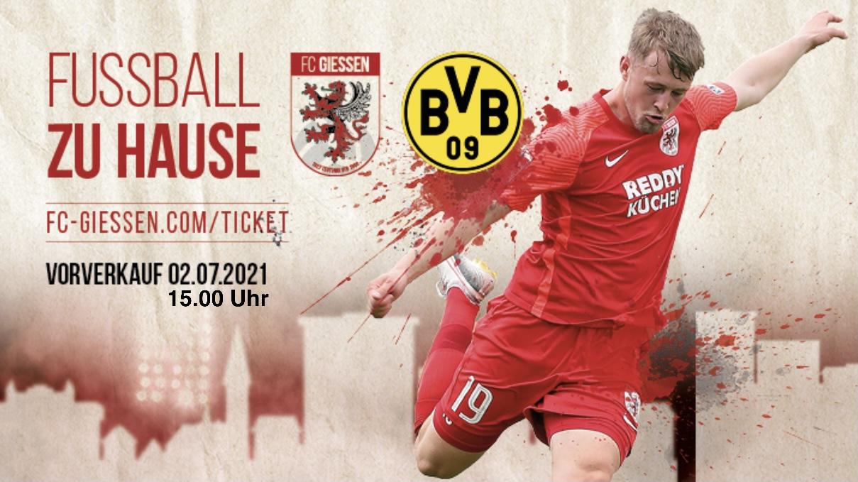 TICKETS FC Giessen – Borussia Dortmund