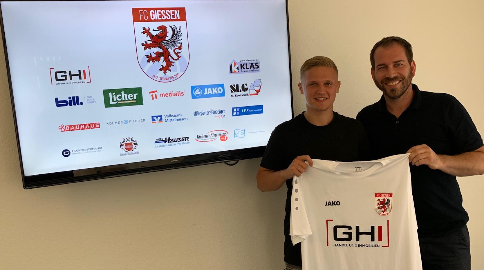 Sammy Kittel schließt sich dem FC Gießen an