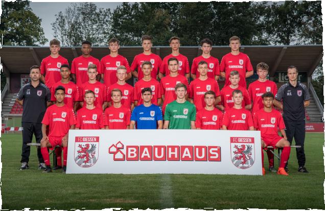 FC Gießen U17 vs. SG Kelkheim U17 2:2 (1:1)