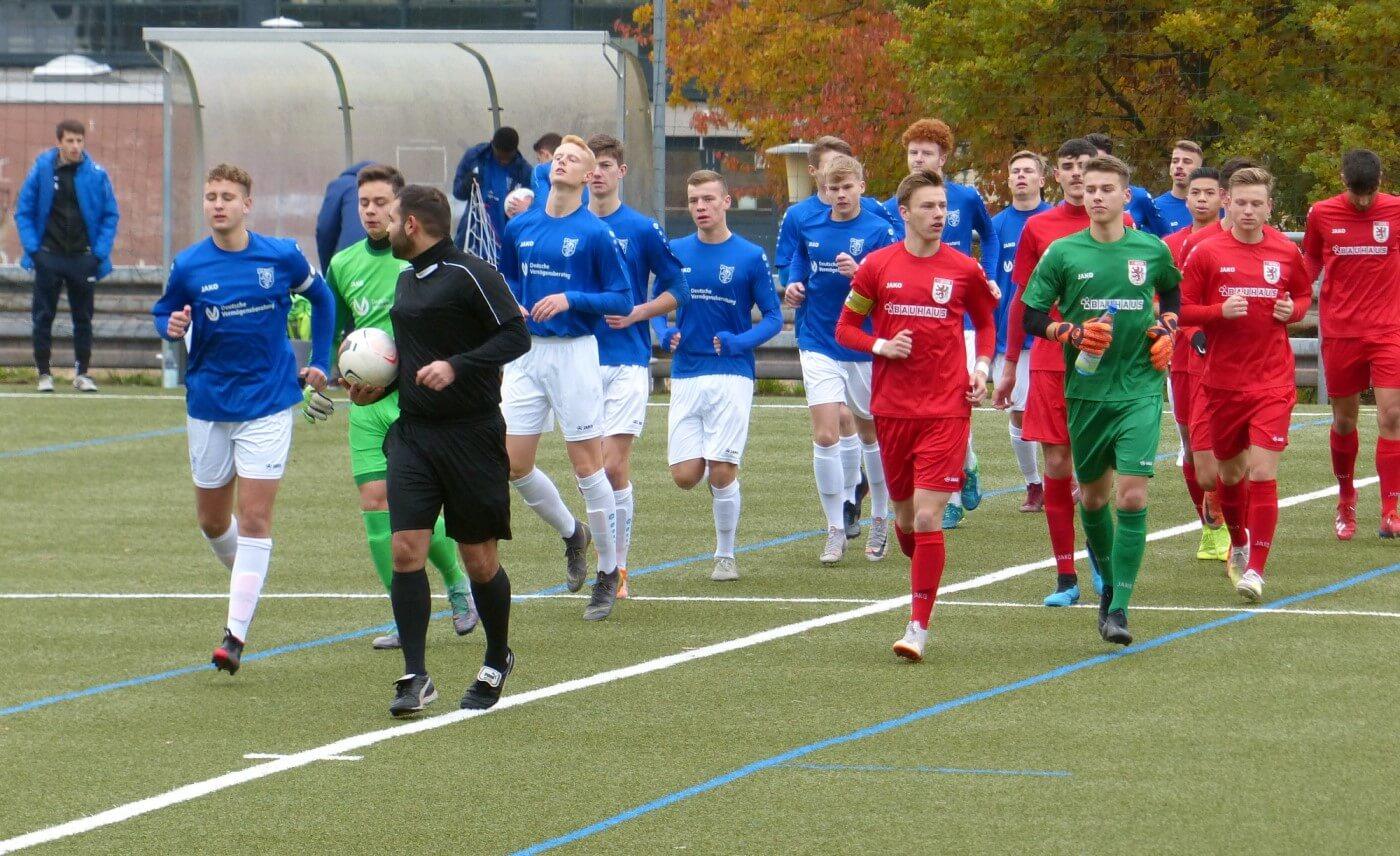 U19: FC Gießen – VfB Marburg 2:3 – Erste Saisonniederlage