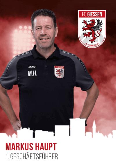 Neuer Geschäftsführer des FC Gießen benannt